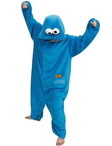 c47f8d1ee98c Cookie Monster Onesie - FUNSIE ONESIE