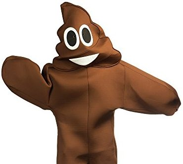 poop emoji onesie for adults