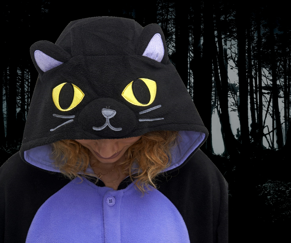 Student Onesie Guide 4 - Midnight Cat Kigu