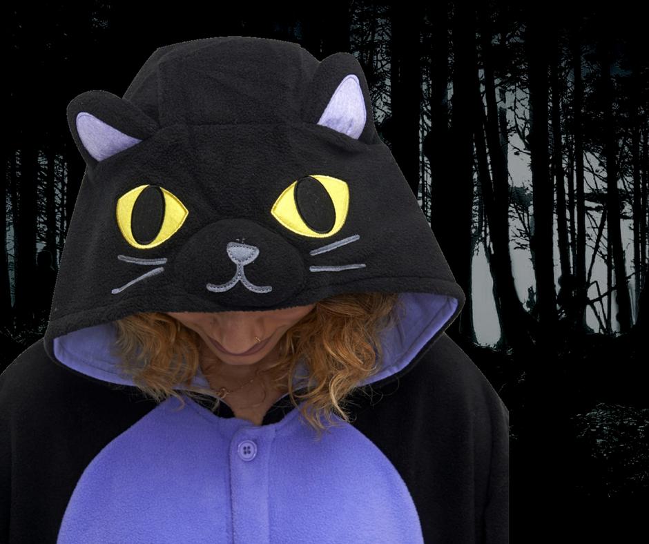 Student Onesie Guide 4 - Midnight Cat Kigu