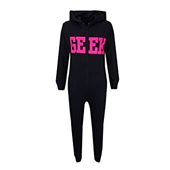 girls-geek-onesie-pink-black