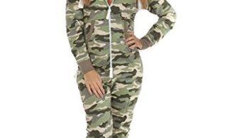 womens-army-print-onesie
