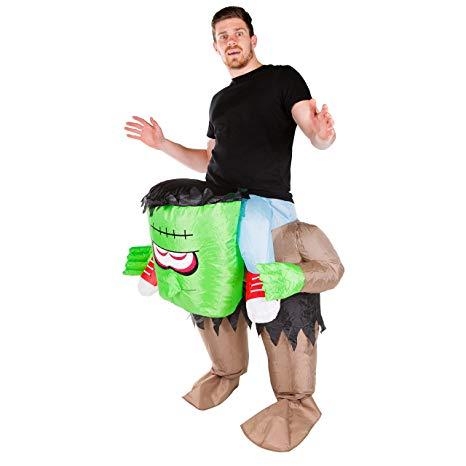 Inflatable Halloween Costume - Frankenstein - FUNSIE ONESIE