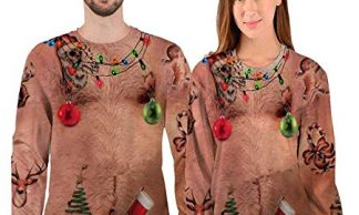 hairy-chest-christmas-jumper 2